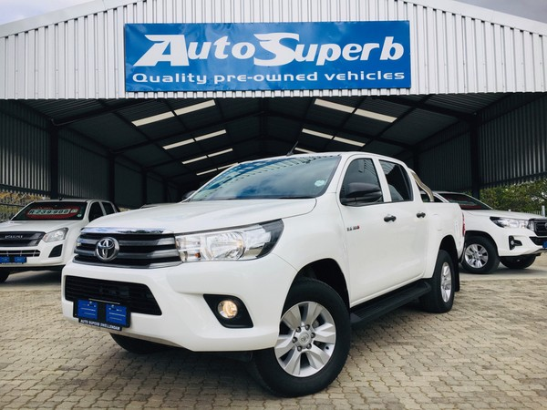 2018 Toyota Hilux 2.4 GD-6 SRX 4x4 Double Cab Bakkie Western Cape Swellendam_0