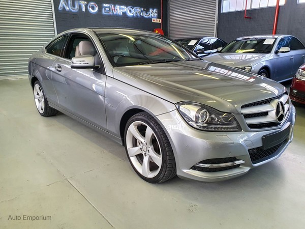2011 Mercedes-Benz C-Class C250 Be Coupe At  Western Cape Maitland_0
