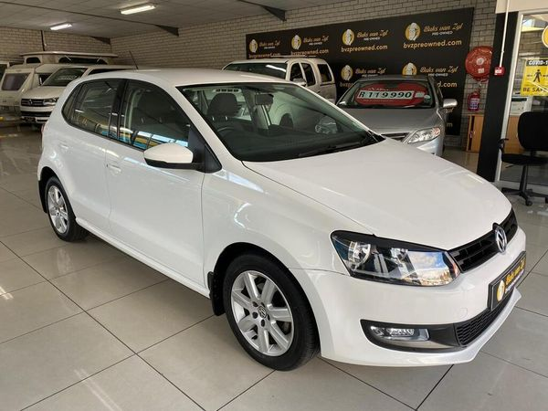 2011 Volkswagen Polo 1.6 Comfortline 5dr  Western Cape Paarl_0