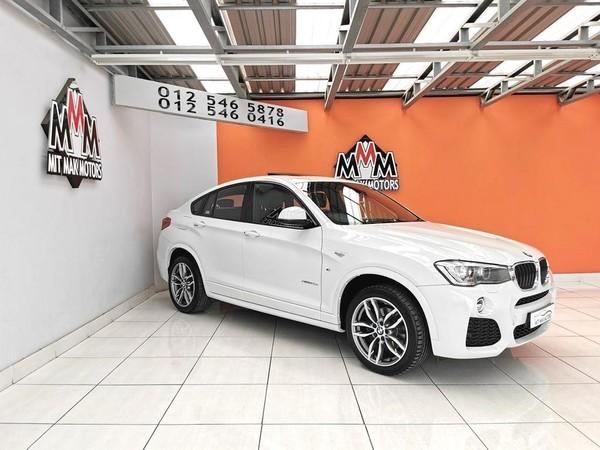2016 BMW X4 xDRIVE20d M Sport Gauteng Pretoria_0