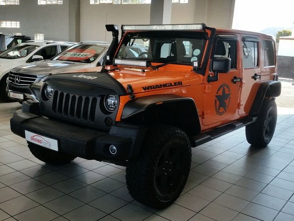 2012 Jeep Wrangler Unlimited 3.6l V6 At  Western Cape Wynberg_0