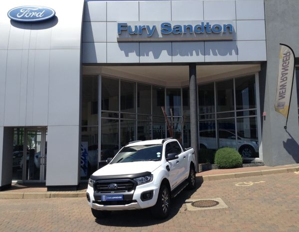 2020 Ford Ranger 2.0TDCi WILDTRAK 4X4 Auto Double Cab Bakkie Gauteng Sandton_0