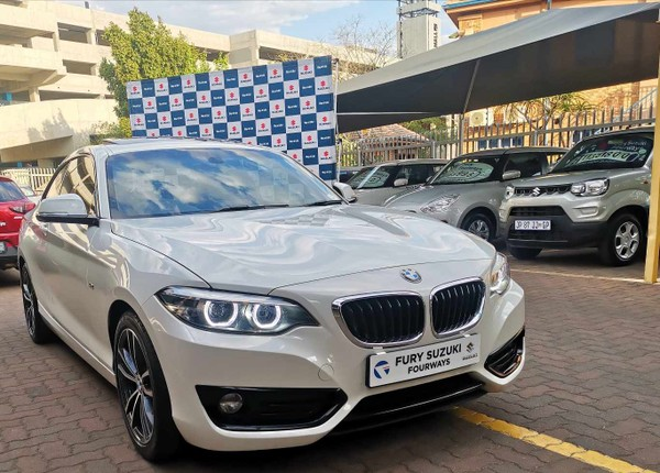 2018 BMW 2 Series 220i Sport Line Auto Gauteng Four Ways_0