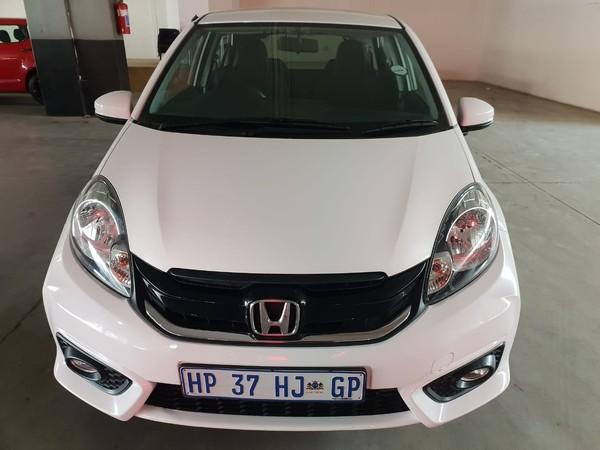 2018 Honda Brio 1.2 Comfort Auto Gauteng Johannesburg_0