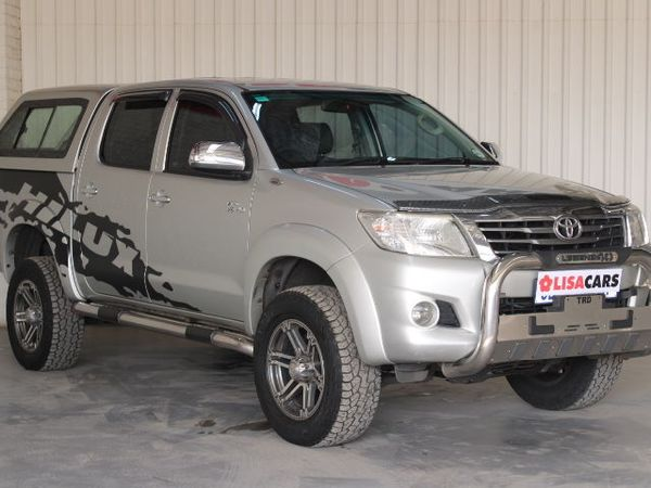 2012 Toyota Hilux 4.0 V6 Raider Rb At Pu Dc  Gauteng Kempton Park_0