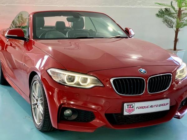 2016 BMW 2 Series 220i Convertible M Sport Auto F23 Kwazulu Natal Durban_0