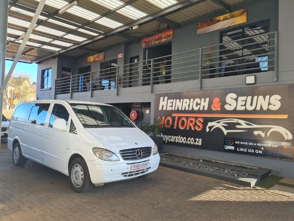 2005 Mercedes-Benz Vito 115 2.2 Cdi Crew Bus  Gauteng Pretoria_0