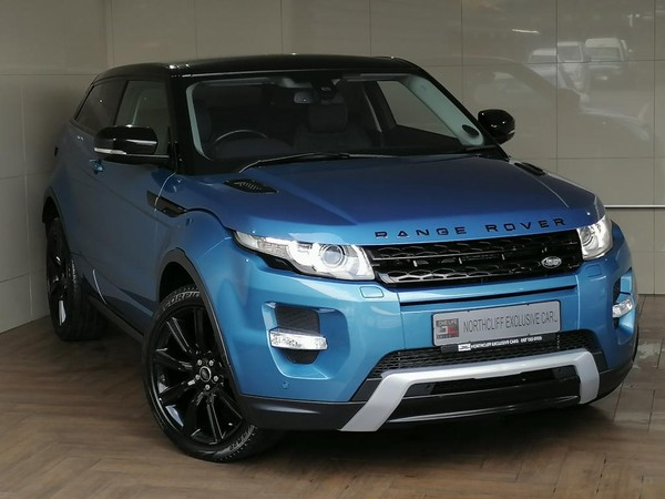 2013 Land Rover Evoque 2.2 SD4 DYNAMIC COUPE Gauteng Randburg_0
