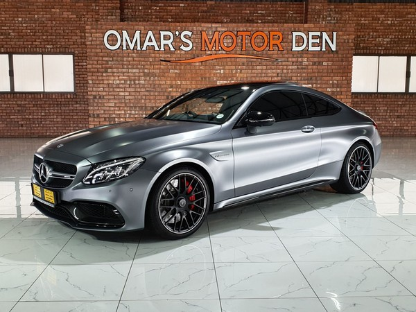 2018 Mercedes-Benz C-Class C63 S  COUPE ONE OF ITS KIND MAGNO GREY Mpumalanga Witbank_0