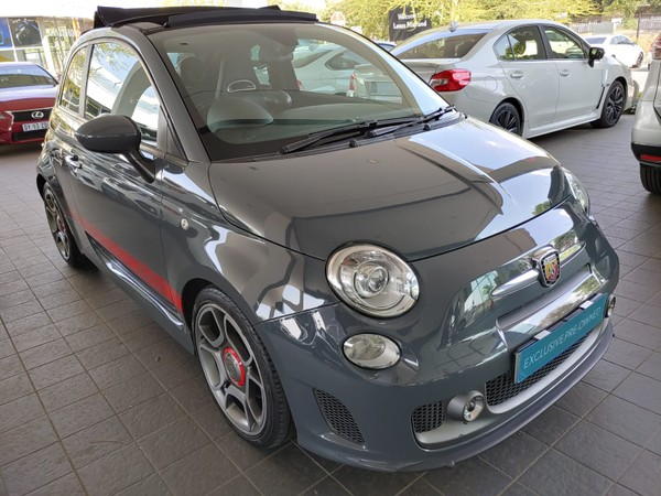 2017 Abarth 500 595 1.4T Turismo Cabriolet Gauteng Midrand_0