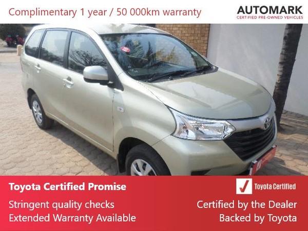2019 Toyota Avanza 1.5 SX Limpopo Messina_0