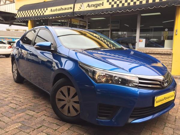 2014 Toyota Corolla 1.4D Esteem Western Cape Bellville_0