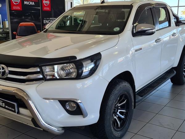2016 Toyota Hilux 2.8 GD-6 RB Auto Raider Double Cab Bakkie Western Cape Vredenburg_0
