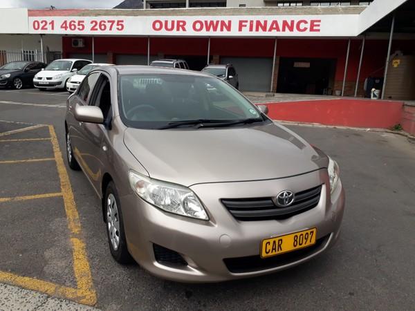 2008 Toyota Corolla 1.6 Professional  Western Cape Cape Town_0