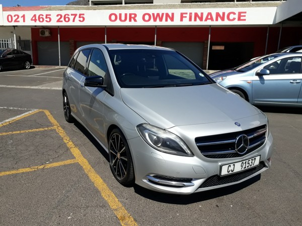 2014 Mercedes-Benz B-Class B 200 Be At  Western Cape Cape Town_0