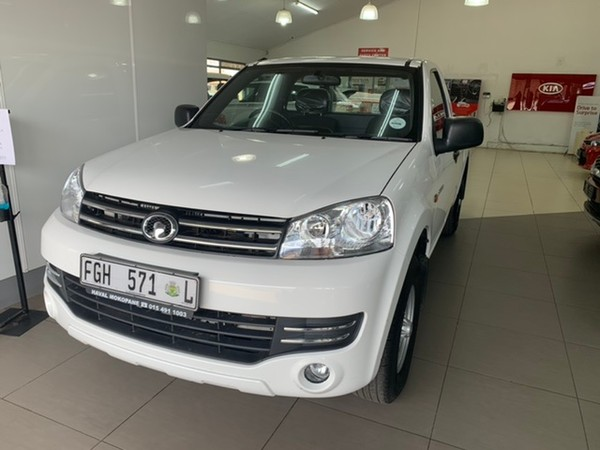 2019 GWM Steed 5 2.2 MPi Workhorse Single Cab Bakkie Limpopo Mokopane_0