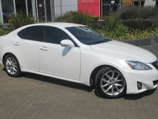 2012 Lexus IS 250 Ex At  Gauteng Johannesburg_0