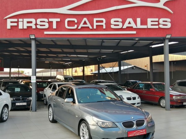 2008 BMW 5 Series 530d At e60  Gauteng Johannesburg_0