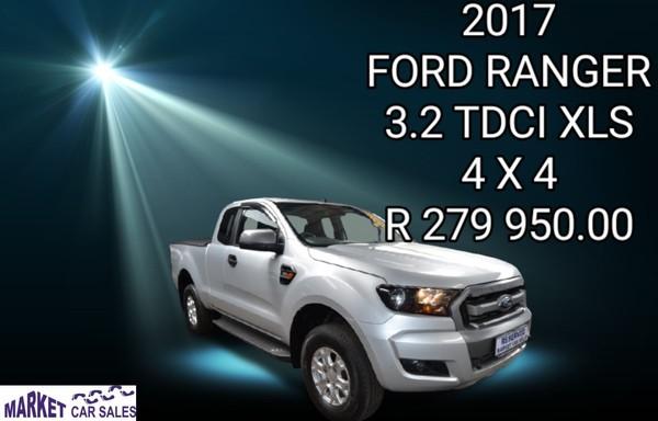 2017 Ford Ranger 3.2TDCi XLS 4X4 PU SUPCAB Gauteng Johannesburg_0