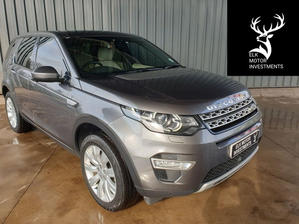 2015 Land Rover Discovery Sport Sport 2.2 SD4 HSE LUX Mpumalanga Middelburg_0