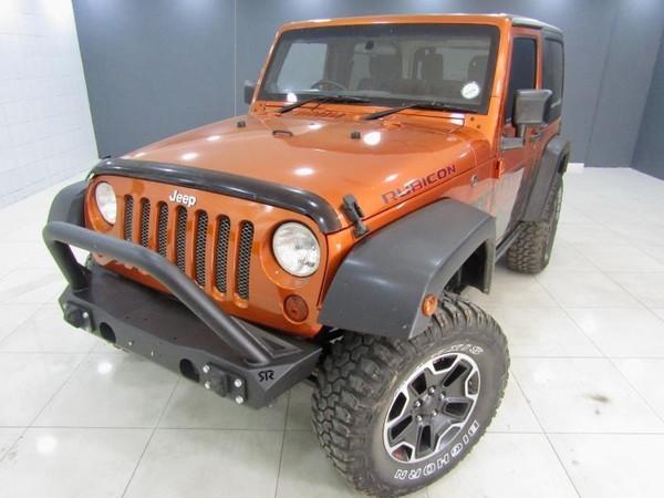 2012 Jeep Wrangler 3.8 Rubicon 2dr  Gauteng Pretoria_0
