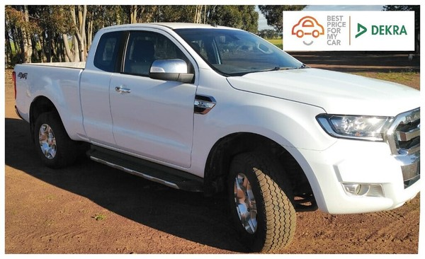 2017 Ford Ranger 3.2TDCi XLT 4X4 AT PU SUPCAB Western Cape Goodwood_0