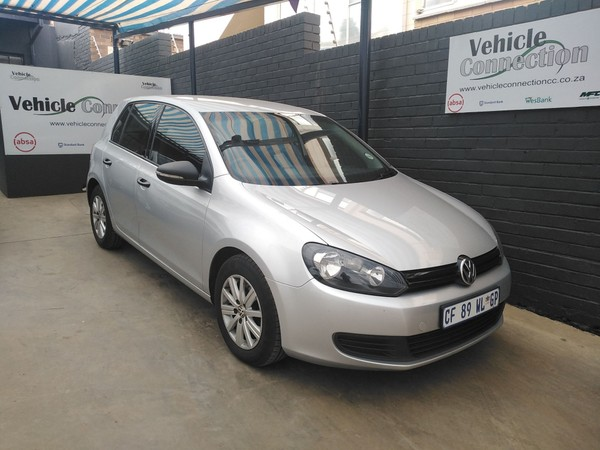2012 Volkswagen Golf Vi 1.6i Trendline  Gauteng Johannesburg_0