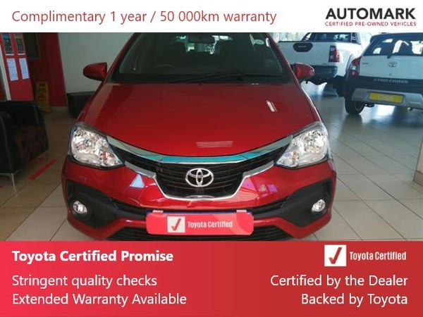 2020 Toyota Etios 1.5 Xs 5dr  Gauteng Krugersdorp_0