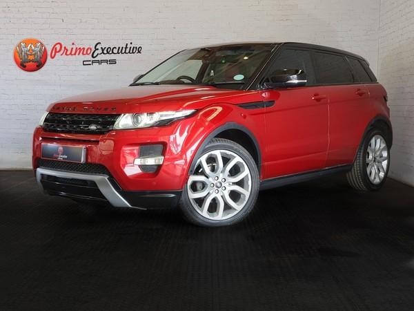 2013 Land Rover Evoque 2.2 Sd4 Dynamic  Gauteng Edenvale_0
