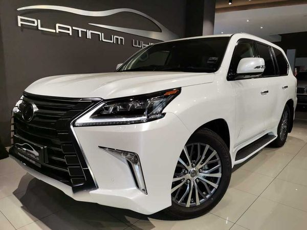 2020 Lexus LX 4.5TD V8 Gauteng Four Ways_0