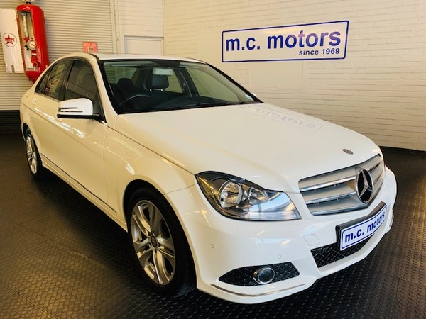 2012 Mercedes-Benz C-Class C200 Be Avantgarde At  Western Cape Cape Town_0