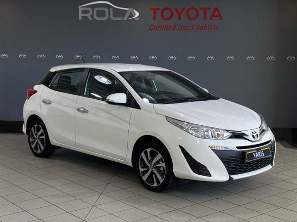 2019 Toyota Yaris 1.5 Xs CVT 5-Door Western Cape Somerset West_0