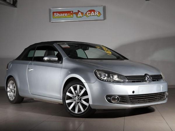 2012 Volkswagen Golf Vi 1.4 Tsi Cabrio 118kw Hline  North West Province Klerksdorp_0