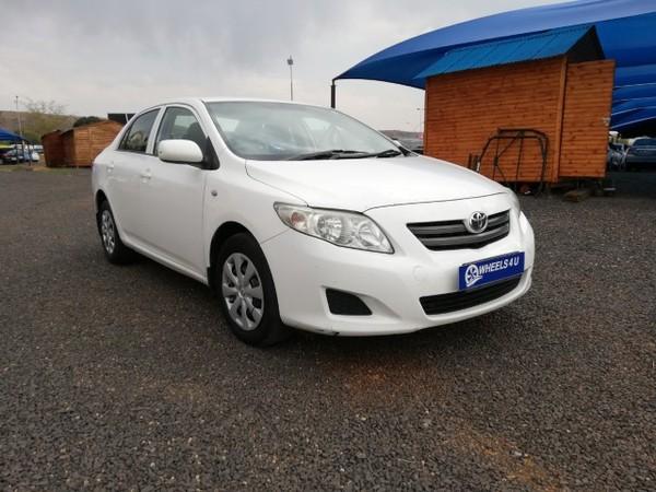 2008 Toyota Corolla 1.4 Professional  Gauteng Pretoria_0