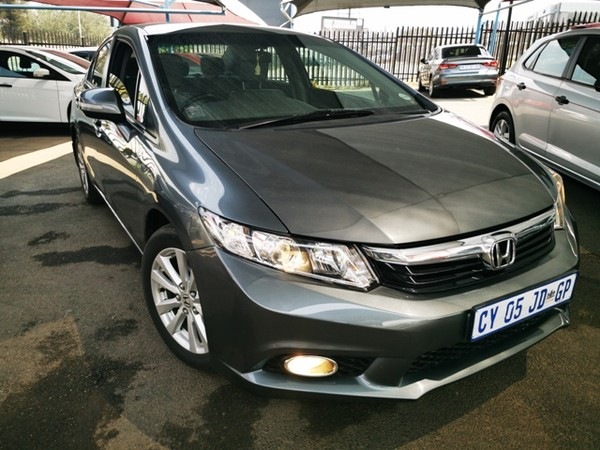 2014 Honda Civic 1.8 Executive  Gauteng_0