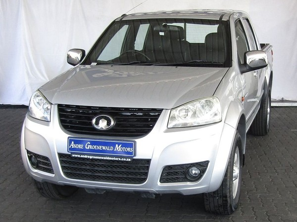 2015 GWM Steed 5 2.5 Tci 4x4 Pu Dc  Western Cape Goodwood_0