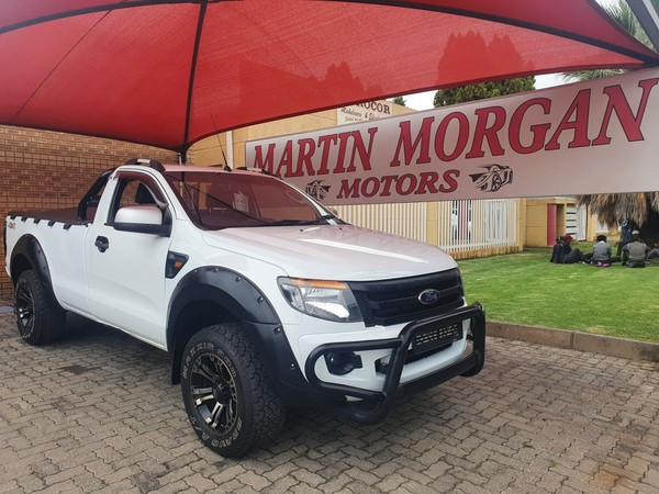 2014 Ford Ranger 3.2TDCi XLS 4X4 Single cab Bakkie Gauteng Vereeniging_0