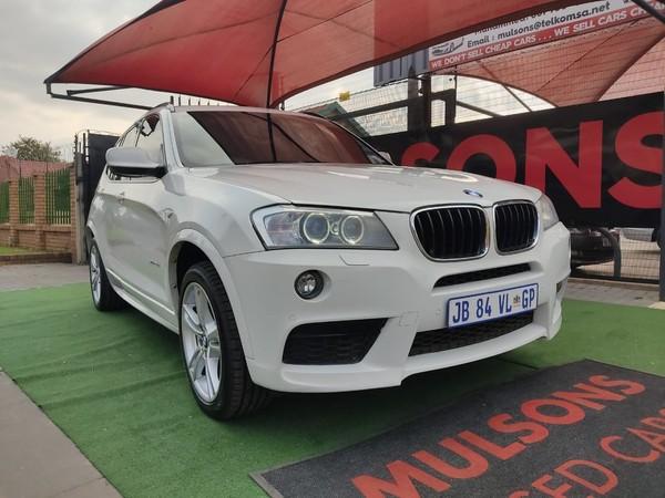 2013 BMW X3 Xdrive20d M Sport Steptronic e83  Gauteng Boksburg_0