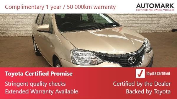 2020 Toyota Etios 1.5 Xs  Gauteng Boksburg_0