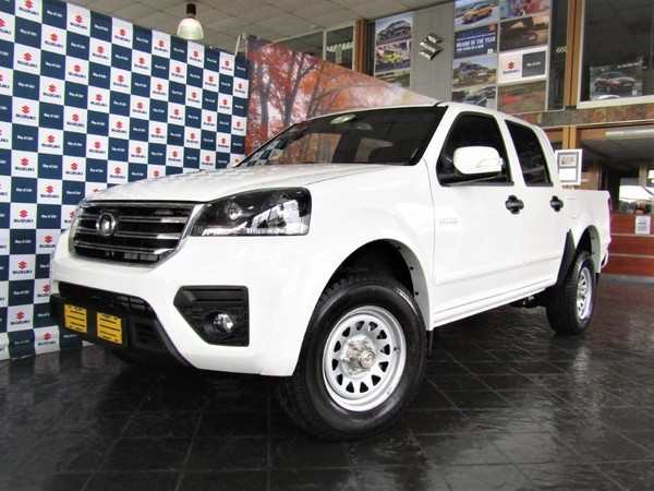 2020 GWM Steed 5 2.0 VGT SX Single Cab Bakkie Gauteng Rosettenville_0