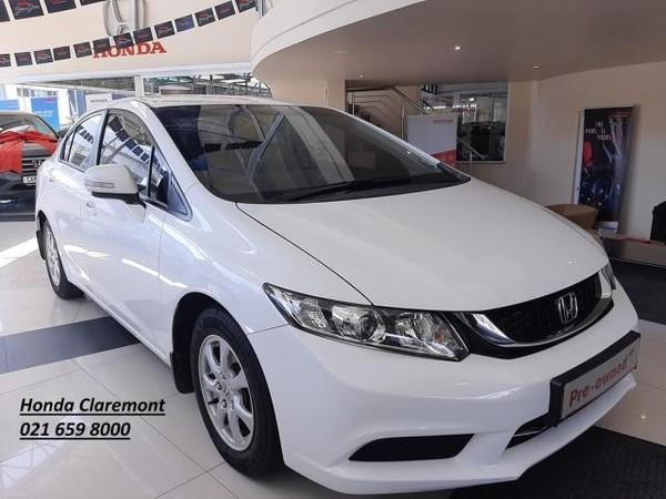 2015 Honda Civic 1.6 Comfort  Western Cape Claremont_0