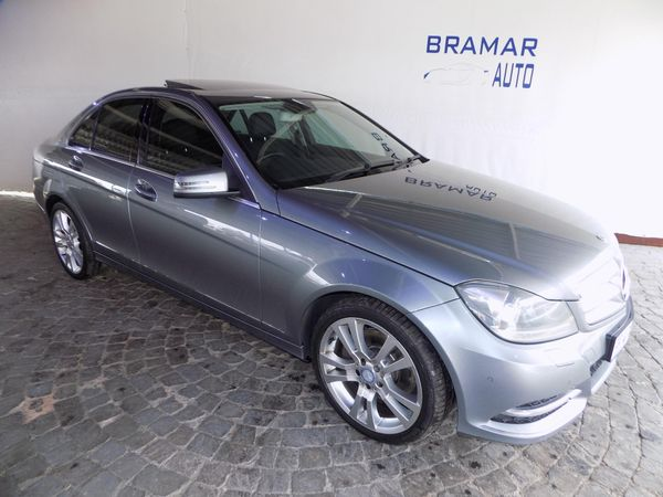 2011 Mercedes-Benz C-Class C350 Cdi Avantgarde At  Gauteng Boksburg_0