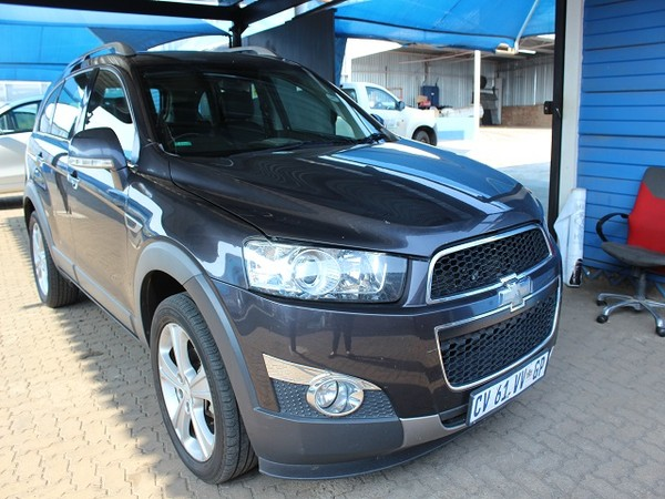 2013 Chevrolet Captiva 2.2d Ltz 4x4 At  Limpopo Louis Trichardt_0