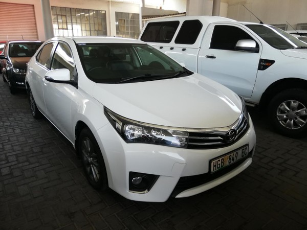 2014 Toyota Corolla 1.6 Sprinter Eastern Cape East London_0