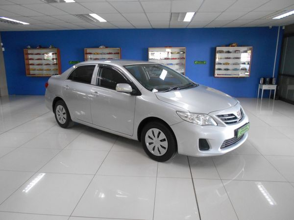 2012 Toyota Corolla 1.3 Impact  Free State Bloemfontein_0