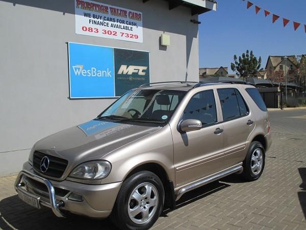 2001 Mercedes-Benz M-Class Ml 320 Fl  Gauteng Pretoria_0