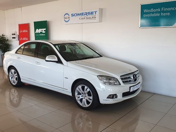 2007 Mercedes-Benz C-Class C200k Avantgarde At  Western Cape Strand_0