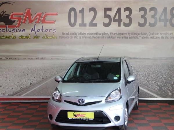 2012 Toyota Aygo 1.0 Wild 5dr  Gauteng Pretoria_0