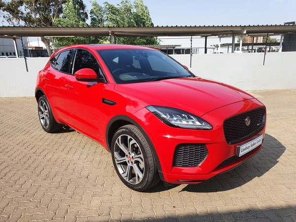 2018 Jaguar E-Pace 2.0D First Edition 132KW Free State Bloemfontein_0