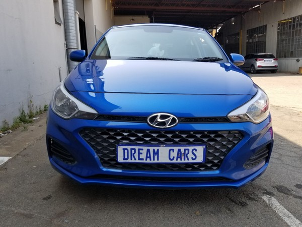 2020 Hyundai i20 1.2 Fluid Gauteng Johannesburg_0